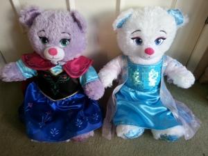 Anna and Elsa Bear